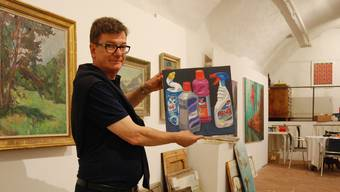 Carlo Mettauer macht erstmals eine Ausstellung, die sowohl in der Neuen Galerie 6 als auch im «Maggs» stattfindet.