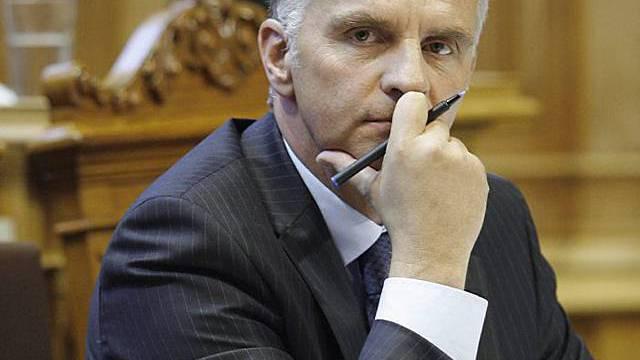 Bundesrat Didier Burkhalter (Archiv)