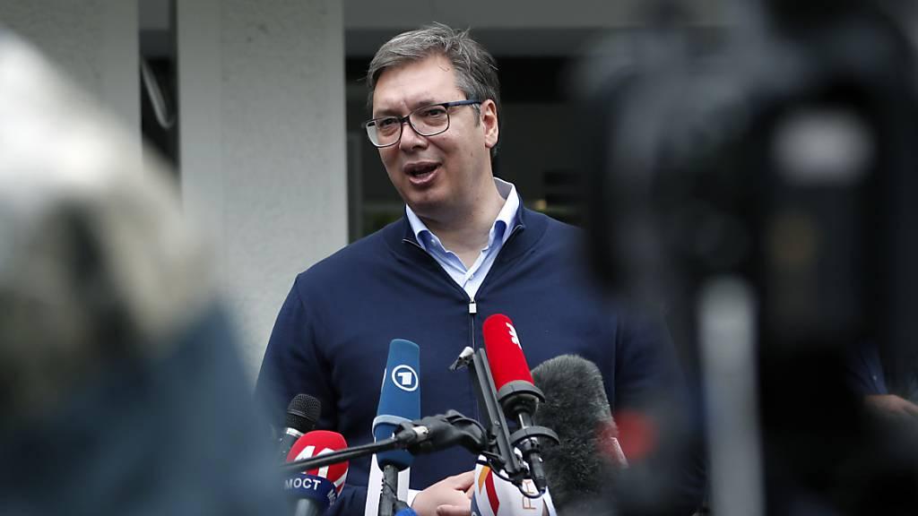Vucic-Partei mit haushohem Sieg bei Parlamentswahl in Serbien