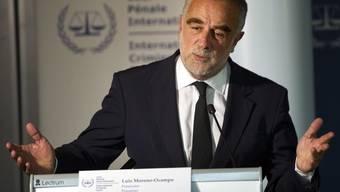Luis Moreno-Ocampo, Chefankläger des Internationalen Strafgerichtshofes in Den Haag (Archiv)