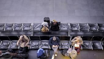 Ein seltenes Bild am Euro-Airport. Meist drängeln sich die Menschen am Flughafen. Auch in diesem Jahr wird ein Rekord bei den Passagieren Tatsache – mehr als 9 Millionen werden es sein
