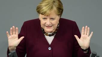 Bereits am Dienstag hatte sich Bundeskanzlern Merkel an einer Pressekonferenz zum Thema Schliessung der Skigebiete geäussert.