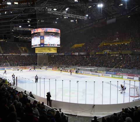 Die PostFinance-Arena in Bern ist seit Jahren sehr gut gefüllt