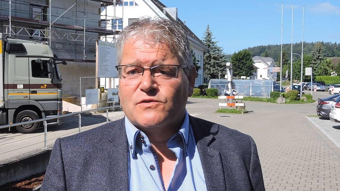 """""""Es war eine komische Stimmung"""": René Huber, Direktor des Spitals Leuggern, fordert nach de Lockdown Unterstütung von Bund und Kanton."""