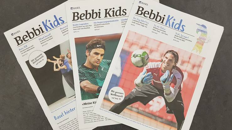 «Bebbi Kids» – die Basler Kinderzeitung.