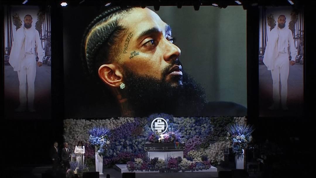 Tausende Fans erweisen erschossenem Rapper letzte Ehre