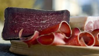 350 Kilogramm: Diese Menge getrocknetes Rindfleisch wollte ein Schmuggler von Frankreich in die Schweiz bringen.
