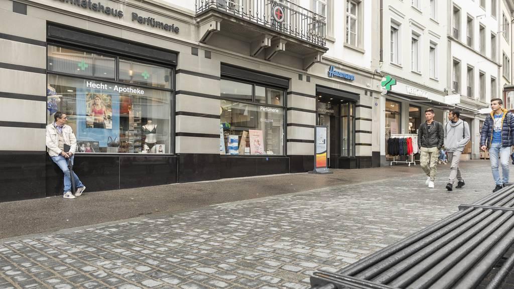 Die Hausammann-Apotheke in der Marktgasse macht dicht.