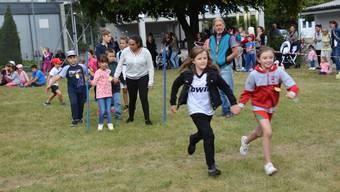 Spiel- und Sporttag der Schule Kastels in Grenchen