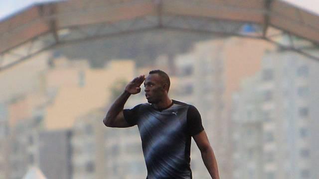 Usain Bolt siegte über 150 Meter