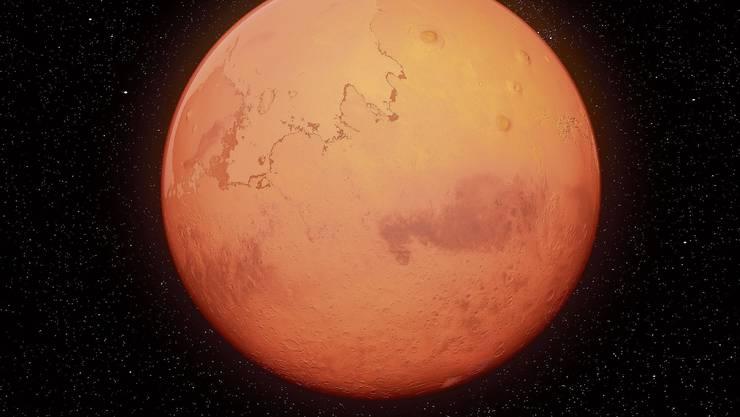 Die ETH Zürich misst auf dem Roten Planeten die Marsbeben.