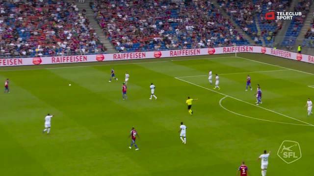 Super League, 2018/19, 1. Runde, FC Basel – FC St. Gallen, 1:1 Eigentor Jordi Quintillà