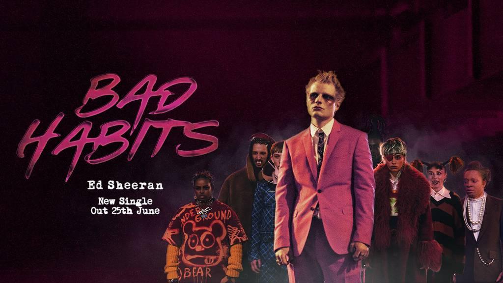 Neue Single «Bad Habits» von Pop-Star Ed Sheeran