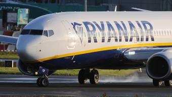 Boeing 737 von Ryanair auf dem Flughafen von Dublin (Archiv)