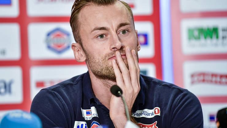 Emotionaler Abschied: Petter Northug erklärte an einer Pressekonferenz in Trondheim seinen Rücktritt vom Wettkampfsport