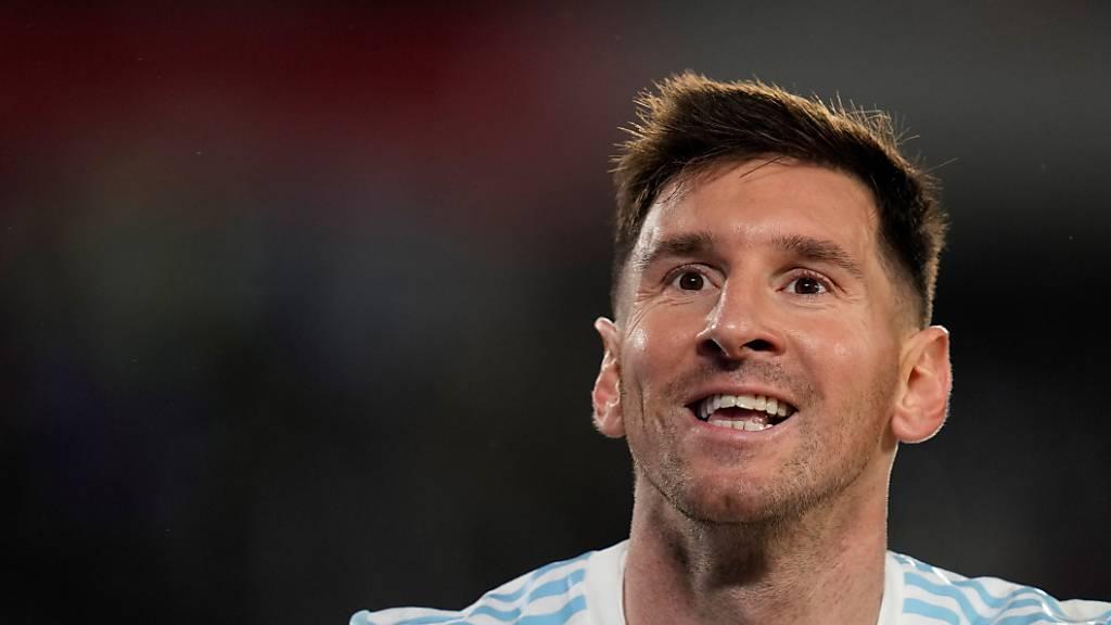 Lionel Messi legt für sich und Argentinien Ehre ein