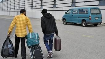 Die Zahl der Asylgesuche hat im Oktober zugenommen (Archiv)