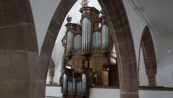 Verwaist: Orgel der Peterskirche.