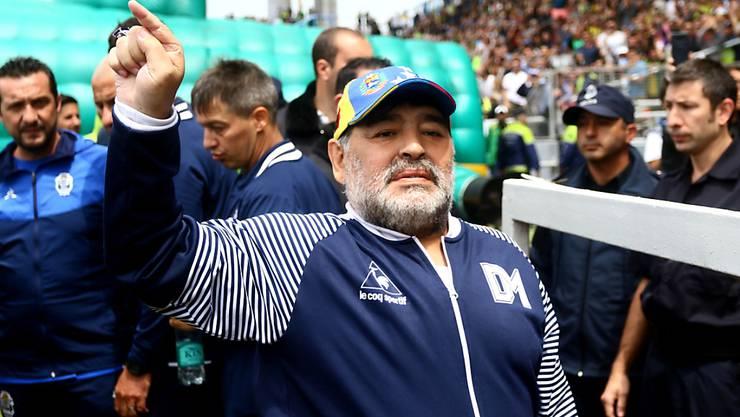Die Ära von Diego Maradona als Trainer von Gimnasia y Esgrima endet nach nur acht Spielen