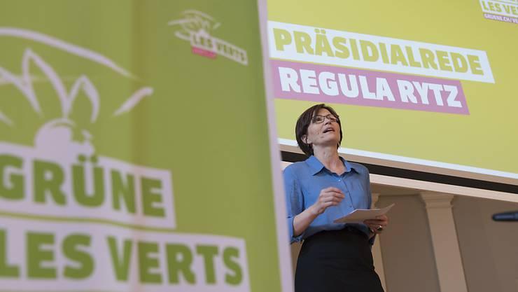 Sieht die Grünen auf dem aufsteigenden Ast: Parteipräsidenten Regula Rytz. (Archivbild)