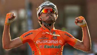 Der Spanier Samuel Sanchez holt sich Etappensieg.