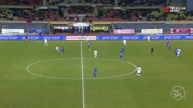 Super League, 2017/18, 17. Runde, FC Lausanne-Sport - FC Basel, Tor 0:2 (39. Min)