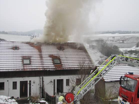 Die Feuerwehr hatte den Brand rasch unter Kontrolle.