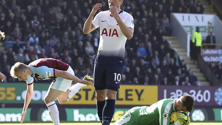 Harry Kane feierte sein Comeback mit einem Tor, verlor aber mit Tottenham in Burnley