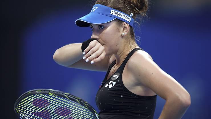 Belinda Bencic muss für die zweite Runde Forfait erklären