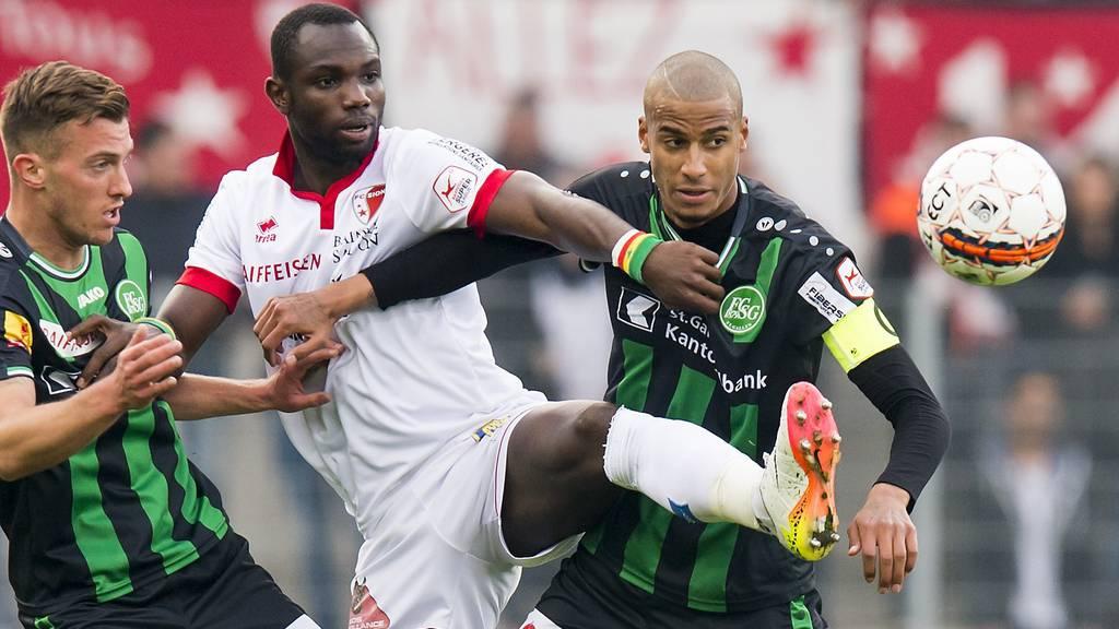 Kann sich der FC St.Gallen gegen Sion durchsetzen?