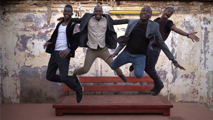 Songhoy Blues: Die Musiker formierten sich nach ihrer Flucht in Bamako. ZVG