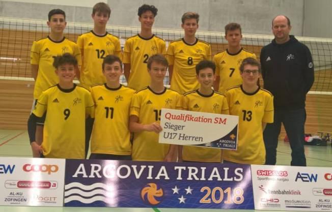 U17 - Volley Schönenwerd - 1. Platz