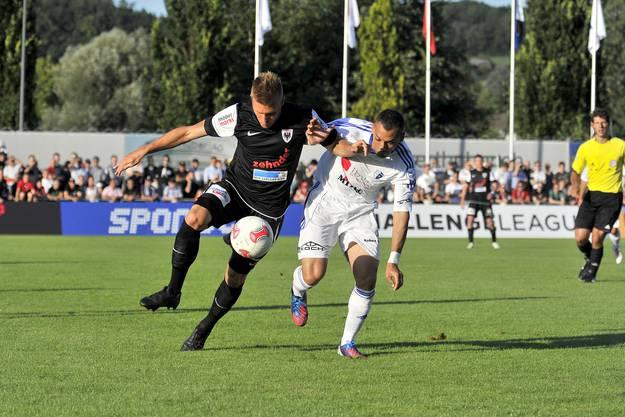 FC Wohlen gegen FC Aarau