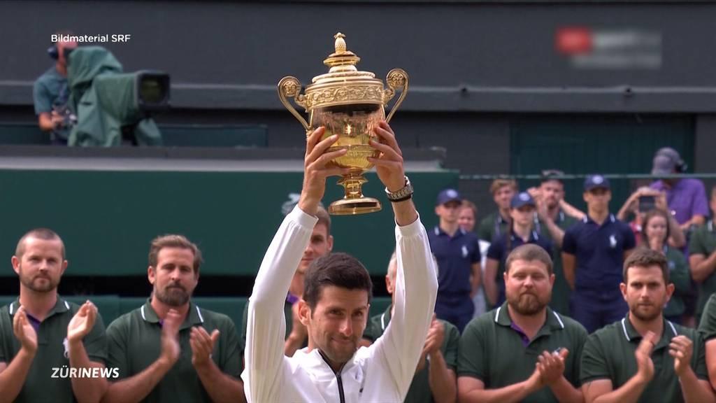 Federer verliert im Wimbledon-Final gegen Djokovic