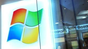 Das Logo von Microsoft (Archiv)