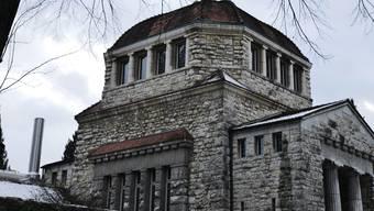 Einer der beiden Öfen im Krematorium hinter der kleinen Abdankungshalle muss ersetzt werden.