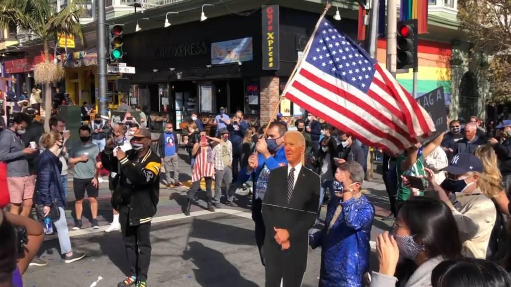 Demokraten feiern ihren Sieg - Partystimmung in den USA
