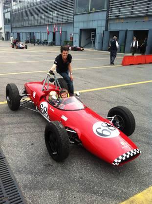Mit dem Fahrzeug war vorher Jo Siffert gefahren.