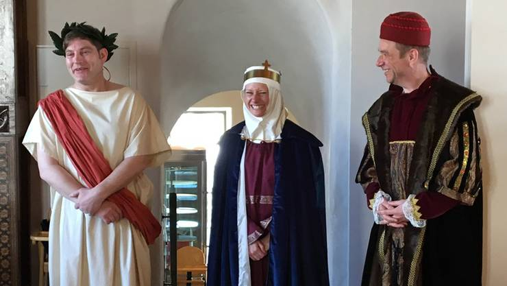 Schauspieler David Bröckelmann, Salomé Jantz und Christoph Matti