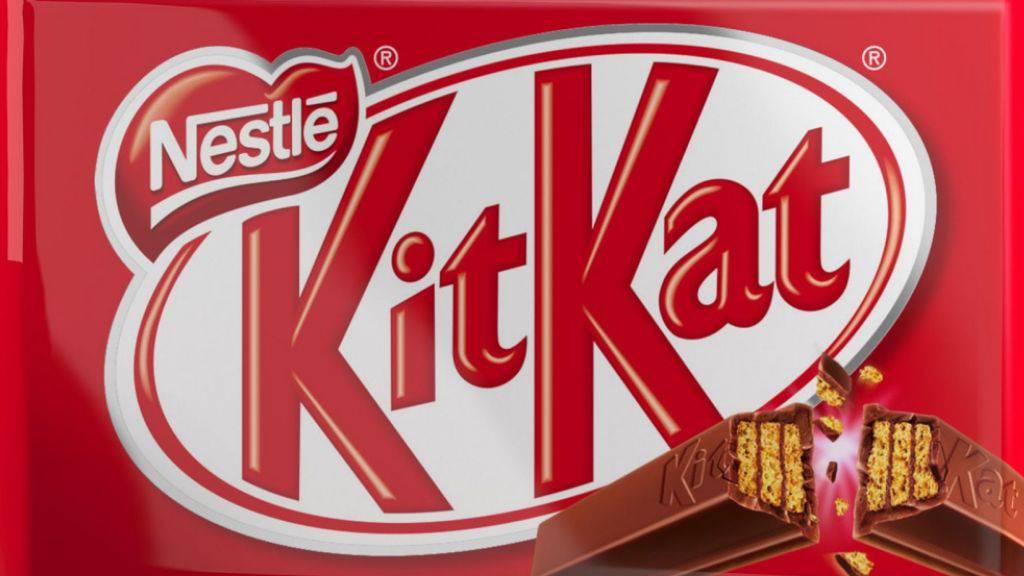 «Have a break, have a Kitkat» - Nestlé wirbt mit den Kitkat-Schokobarren, die sich abbrechen lassen. Die Barren als Form kann der Nahrungsmittelmulti bis jetzt aber nicht vor Nachahmern  schützen lassen.