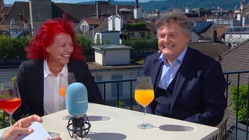 Ancillo und Heliane Canepa, FCZ-Präsidenten-Paar