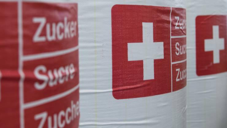Die rund 195'000 Tonnen Schweizer Zucker sind zu wenig, um die Nachfrage zu decken. (Archivbild)