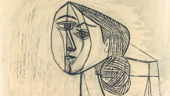 Pablo Picasso FEMME DANS UN FAUTEUIL 1953 Bleistift auf Papier