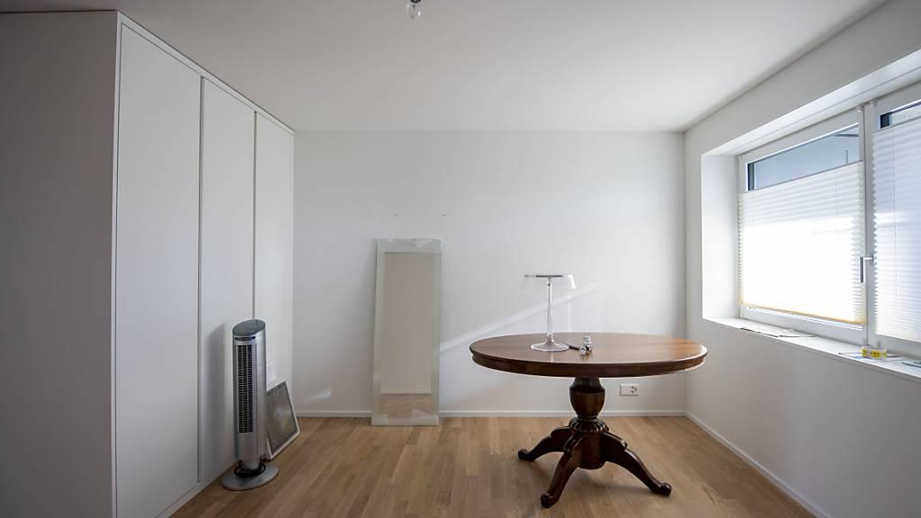 Erneuter Anstieg leer stehender Wohnungen in der Schweiz. (Archiv)