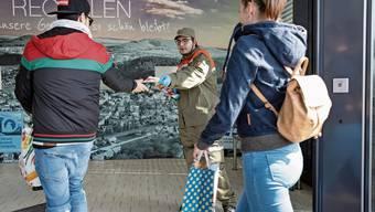 Der Zivilschutz engagierte sich am Wochenende in Trimbach und richtete sich insbesondere an jüngere Menschen.