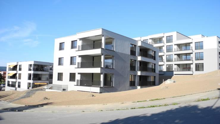 Die Siedlung Heidenkeller der Genossenschaft Limmattal im September 2018.