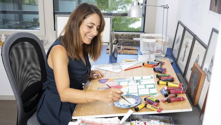 Lorena Valentini hat ihre Leidenschaft gefunden.