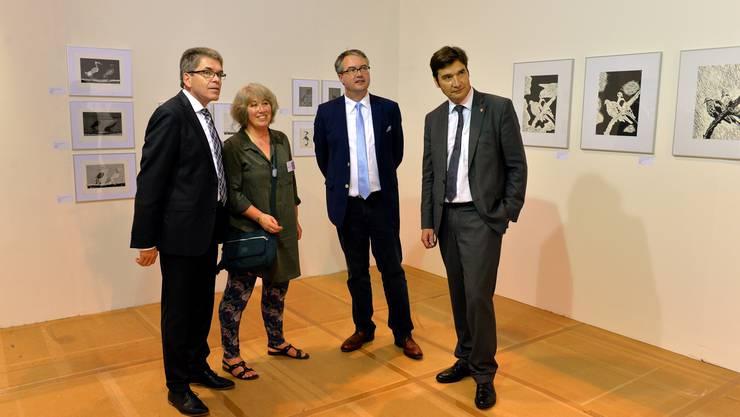 OK-Präsident Claude Desgrandchamps (links) hat seinen Rücktritt bekannt gegeben. (Archiv)