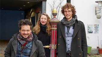 Marcel Grissmer (35), Sarah Verny (31) und Nikolai Prawdzic (29) (v.l.) bilden das Theaterkollektiv «Shift».zvg