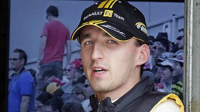 Kubica muss sich gedulden